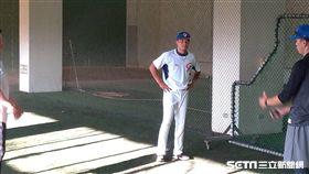 ▲亞歷桑納響尾蛇投手林凱威投入世界棒球12強賽集訓。(圖/記者蕭保祥攝影)