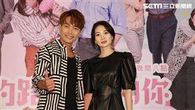 李亦捷、許仁杰今(8日)出席大愛劇場《愛的路上我和你》開播記者會