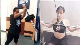 中國最美女胖子(微博)+咖滋咪健身(粉專)