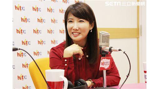 蔡沁瑜廣播節目專訪(圖/「Hit Fm《周玉蔻嗆新聞》製作單位提供)