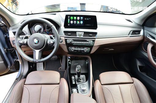 ▲小改款BMW X1。(圖/鍾釗榛攝影)