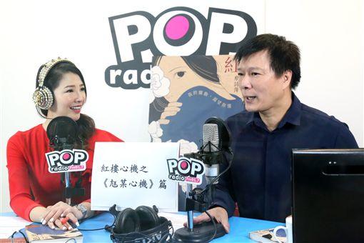 林書煒、蔡詩萍。(POP Radio提供)