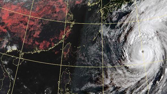 放完國慶連假變天!北台灣轉濕涼 哈吉貝恐轉中颱襲日本