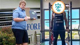 澳洲,肥胖,減肥,帥哥,校花,霸凌 推特