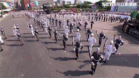 民國108年雙十國慶閱兵儀式/三軍樂儀隊/張惠妹《牽手》、《我要飛》。