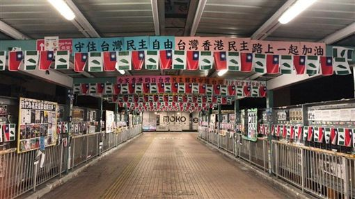 台灣,香港,國旗(圖/翻攝自臉書)