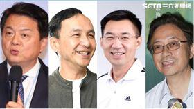 周錫瑋,朱立倫,江啟臣,張善政(組合圖/翻攝自臉書)
