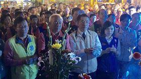 台南市,黃偉哲,安平媽祖,交流回台,迎聖駕(圖/安平開台天后宮提供)中央社