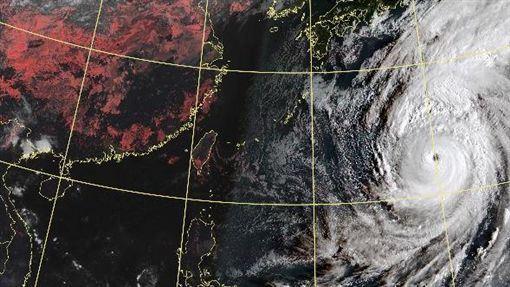 颱風哈吉貝,日本關東,強規模大,嚴加戒備,衝擊(圖/翻攝自氣象局)