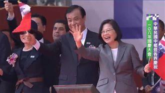 國慶大典看到這些人 蔡英文笑開懷