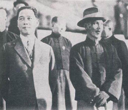 蔣中正(蔣介石)、汪精衛圖翻攝自維基百科