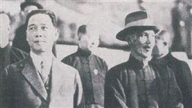 蔣中正(蔣介石)、汪精衛 圖翻攝自維基百科