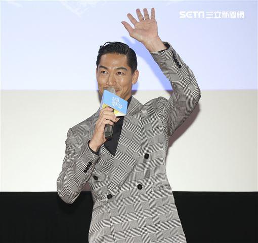 「放浪兄弟」成員AKIRA 高雄電影節 記者邱榮吉攝影