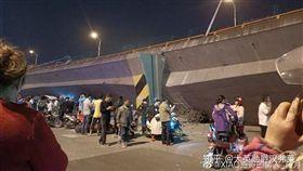 央視新聞,江蘇,無錫,高架橋,倒塌,知乎論壇,PTT 圖/翻攝自知乎論壇