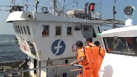 越界陸船涉漁事糾紛 馬祖海巡強勢查扣