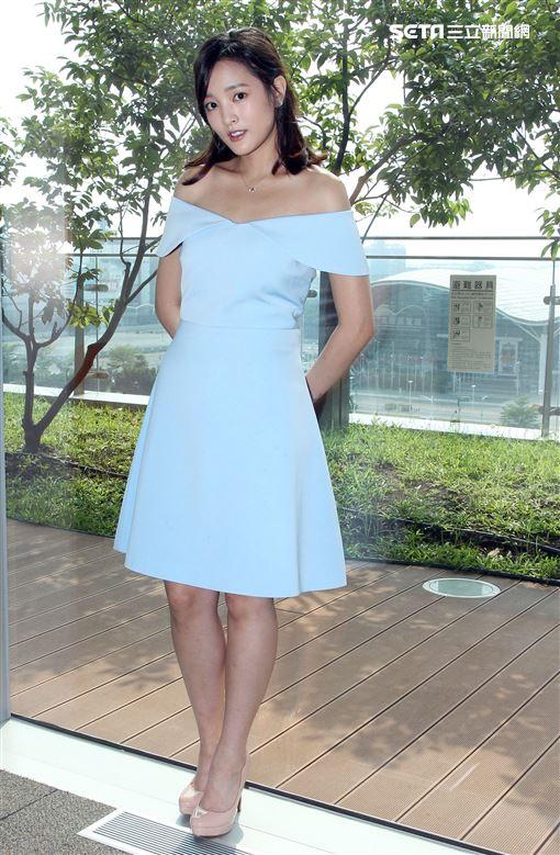 入圍金馬獎最佳女主角王淨接受三立新聞網專訪。(記者邱榮吉/攝影)