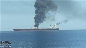 (16:9)伊朗,油輪,爆炸,恐攻,沙烏地阿拉伯(圖/翻攝自Mirror)
