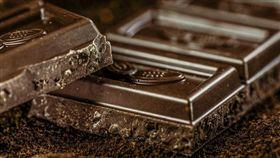黑巧克力 圖/pixabay