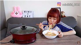 銅板美食 (圖/翻攝自那個女生 Kiki youtube頻道)