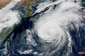 哈吉貝颱風  (圖/翻攝自台灣颱風論壇|天氣特急臉書)