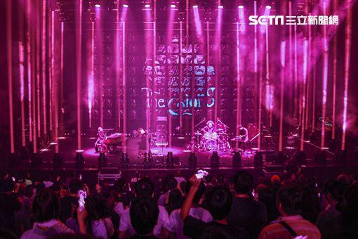 二分时时彩搖滾團體「SEKAI NO OWARI」(世界末日)巡迴演唱會台北場。(圖/記者林士傑攝影)
