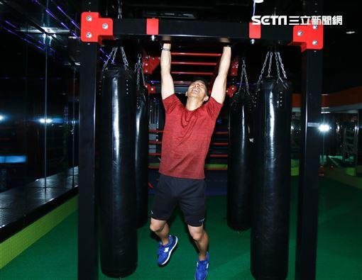 王大文接受《三立新聞網》專訪。(圖/記者林聖凱攝影)