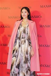 MAX&Co.《2019秋冬新品記者會》。(記者林聖凱攝影)