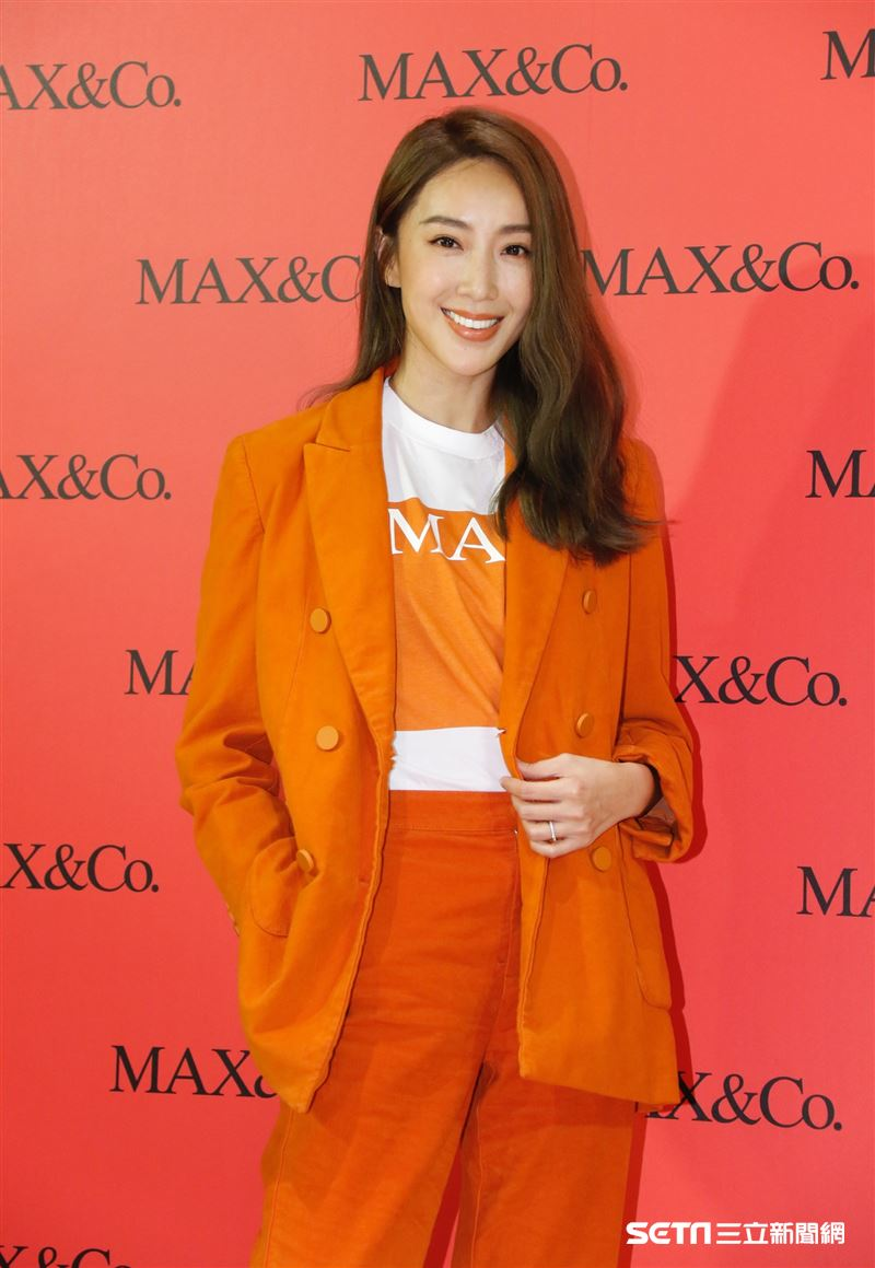 隋棠出席MAX&Co.《2019秋冬新品記者會》。(記者林聖凱攝影)