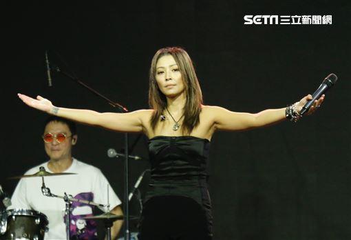 歌手林曉培睽違10年再度復出。(圖/記者林聖凱攝影)
