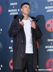 王信凱參加Coach X Michael B. Jordan聯名系列發表。(圖/記者林聖凱攝影)