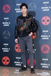 江宏傑參加Coach X Michael B. Jordan聯名系列發表。(圖/記者林聖凱攝影)