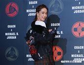 陳庭妮參加Coach X Michael B. Jordan聯名系列發表。(圖/記者林聖凱攝影)