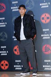 Coach X Michael B. Jordan聯名系列發表。(圖/記者林聖凱攝影)