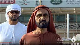 杜拜酋長謝赫.穆罕默德(截圖YouTube)
