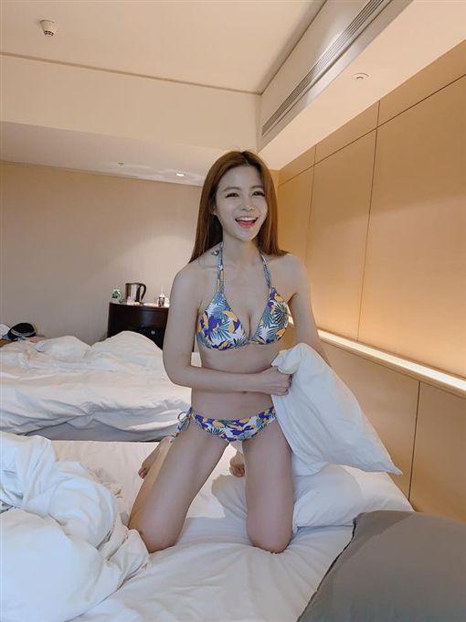 陳樂樂,蘿莉塔,泳裝,比基尼  圖/臉書