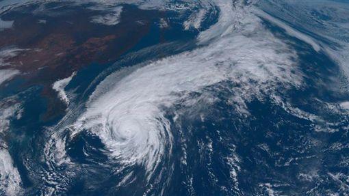 哈吉貝颱風 圖翻攝自向日葵衛星