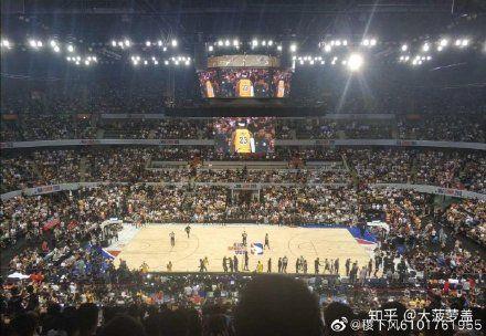 中國大陸,NBA熱身賽,深圳站(圖/翻攝自微博)