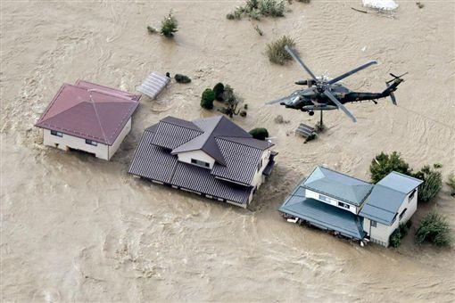 「哈吉貝」狂襲日釀10死128傷 水淹關東恐怖畫面曝光
