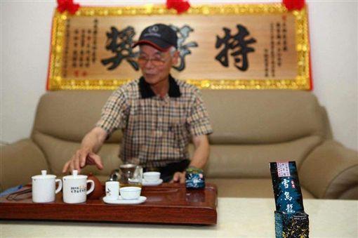 雪烏龍 明冠提供 製茶大師 林重雄
