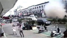 氣爆,江蘇無錫,小籠包,小吃店(梨視頻)