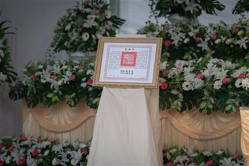 史明教育基金會13日舉辦「振魂護國:與史明歐里桑再走一段台灣路」大遊行暨追思會,蔡英文總統也出席並頒贈褒揚令。(圖/總統府提供)