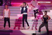 L.A.Boyz的黃立成、林智文,以及麻吉弟弟李玖哲演唱會壓軸再次合體驚喜獻唱,嗨翻小巨蛋。(記者邱榮吉/攝影)