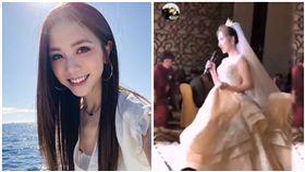 大陸婚禮新娘唱歌太像鄧紫棋 引網友討論。(圖/翻數自XiKou Music YouTube)