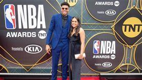 NBA/女友懷孕…字母哥問老爸是誰 NBA,密爾瓦基公鹿,Giannis Antetokounmpo,女友,懷孕 翻攝自推特