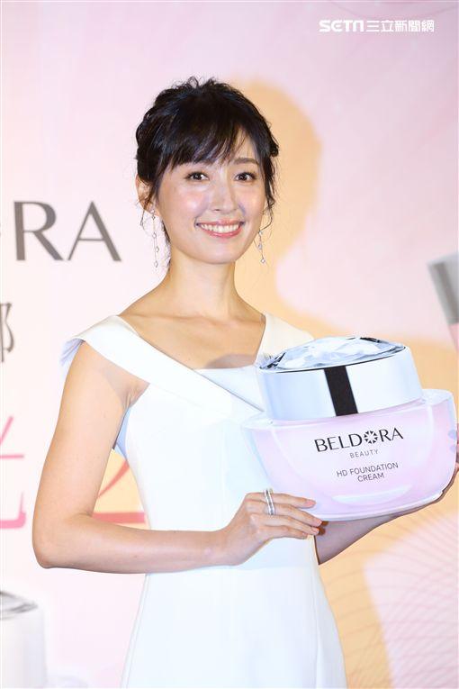 人氣女星田中千繪 亮麗出席「蓓朵娜BELDORA」品牌發表記者會(新聞提供:蓓朵娜BELDORA)