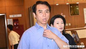 國民黨立委陳學聖為台億交通集團惡性倒閉一案召開協調會議。 (圖/記者林敬旻攝)