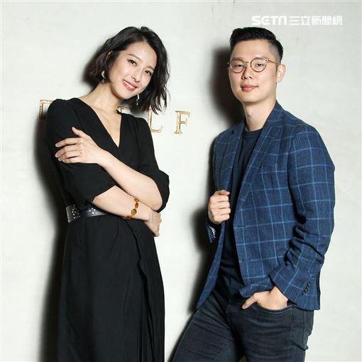 聖人大盜演員賴雅妍、導演林嘉愷專訪。(記者邱榮吉/攝影)