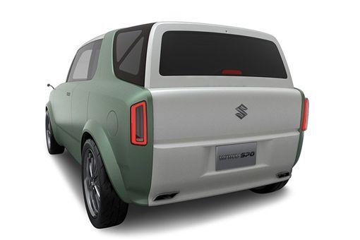 ▲Suzuki Waku Spo輕型概念車。(圖/翻攝網站)