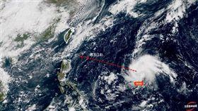 圖/翻攝自台灣颱風論壇 天氣特急