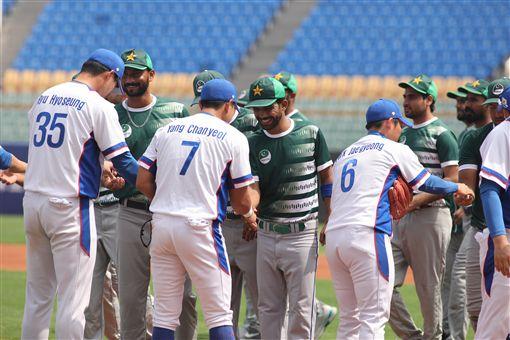 ▲亞錦賽韓國隊與巴基斯坦在斗六比賽。(圖/中華棒協提供)